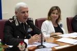 Il ministro della Salute Giulia Grillo e il generale Adelmo Lusi, comandante dei Nas, durante la presentazione del bilancio dell'Operazione 'Estate Tranquilla 2018'
