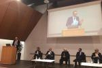 L'assessore veneto al turismo, Federico Caner in occasione della presentazione del Piano strategico regionale per il Turismo del Veneto