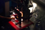 Una batteria solare integrata con un'efficienza del 14,1 % (fonte: David Tenenbaum, UW-Madison)