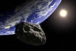 La frequenza di impatto degli asteroidi sulla Terra varia in base alle loro dimensioni (fonte: ESA)