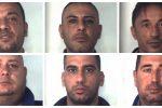 Blitz antimafia nel Catanese, nomi e foto dei 18 arrestati