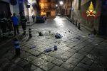 Terremoto a Catania, lesioni agli edifici e crollo di cornicioni: le foto dei sopralluoghi