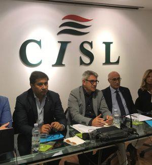 """L'esecutivo della Cisl a Messina: """"Lavorare in sinergia per salvaguardare i servizi e i lavoratori"""""""