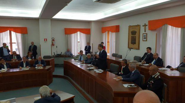 musumeci a ribera, musumeci strade siciliane, Francesco Crispi, Nello Musumeci, Agrigento, Politica