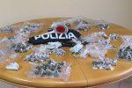 Palermo, nascondeva la droga in casa e in un sottoscala: arrestato un uomo allo Zen