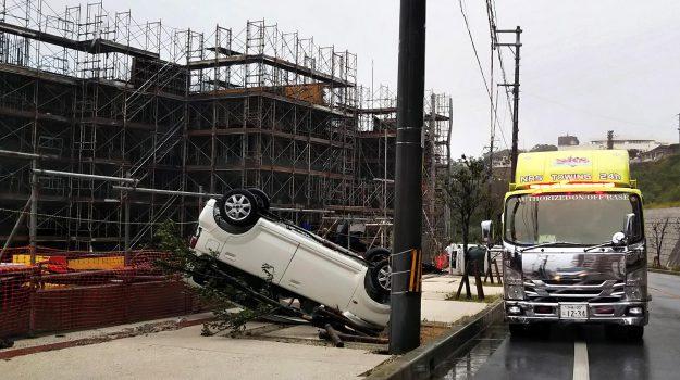 tifone Kong-rey, tifone Trami, Uragano Giappone, Sicilia, Mondo