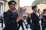 Bande musicali di cinque paesi dei Nebrodi sfilano ad Alcara Li Fusi: le foto
