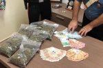 Marijuana e contanti in casa, arrestato un giovane di Misilmeri
