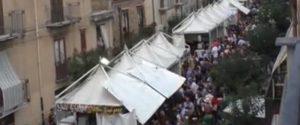 Stand e degustazioni, 10 mila turisti a Castelbuono per la sagra del Fungo: le immagini