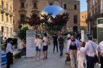 """La """"Foresta urbana"""", arte e natura tra Palazzo Riso e piazza Bellini a Palermo"""