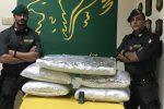 Sequestrati nel Catanese 84 chili di marijuana: arrestato un cittadino albanese