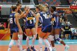 Mondiali di pallavolo femminile: Italia a valanga, travolto l'Azerbaigian
