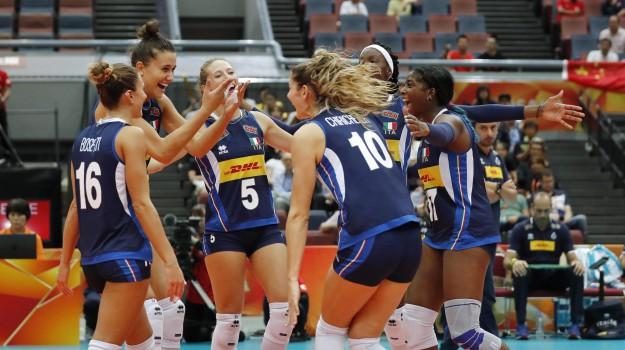 mondiali pallavolo donne, Sicilia, Sport