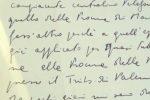 Scritta poche ore prima della strage, il video dell'ultima lettera di Borsellino esposta a Palermo