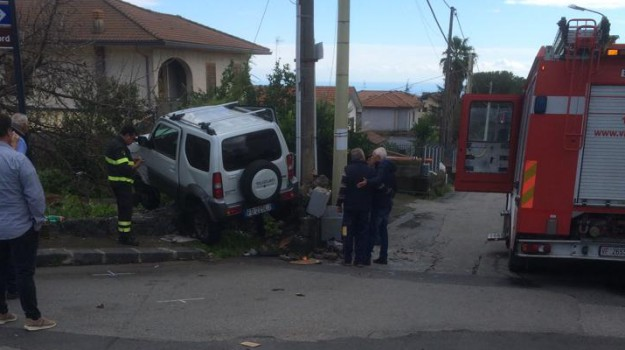 Incidente via Marco Polo Zafferana, Incidente Zafferana Etnea, Carmela Maccarone, Catania, Cronaca