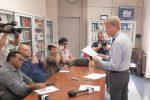 Conferenza stampa Lillo Firetto (foto Vecchio)