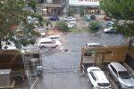 Pioggia a Palermo e Catania, le foto delle strade allagate