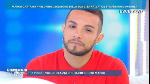 marco carta tv gay, Barbara D'Urso, Marco Carta, Sicilia, Società