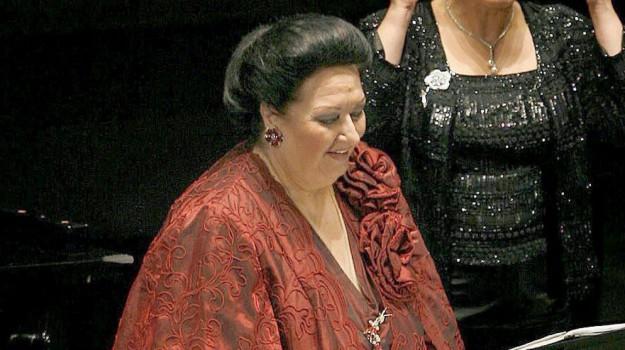 morta soprano montserrat, Montserrat Caballé, Sicilia, Cultura