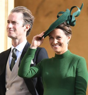 Pippa Middleton insieme al marito
