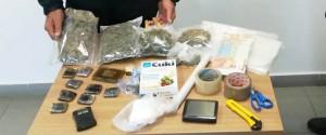 Palermo, marijuana e hashish in casa: fermato un 59enne