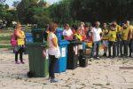 I volontari ripuliscono Parco Robinson di Siracusa