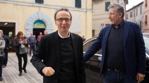 benigni ritorno televisione, Roberto Benigni, Sicilia, Cultura