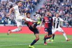 La Juventus frena contro il Genoa, Bessa risponde a Ronaldo: 1-1 allo Stadium