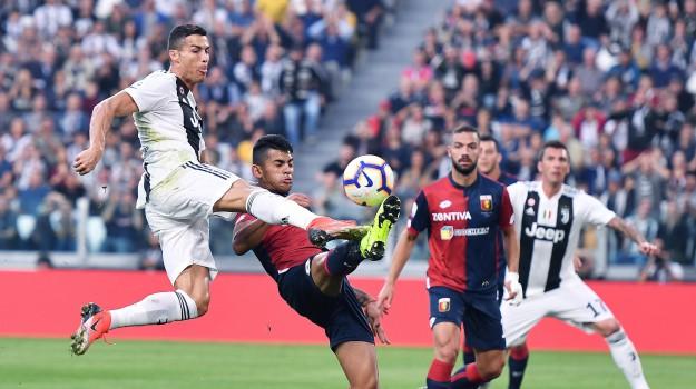 Juventus Genoa, SERIE A, Cristiano Ronaldo, Sicilia, Sport