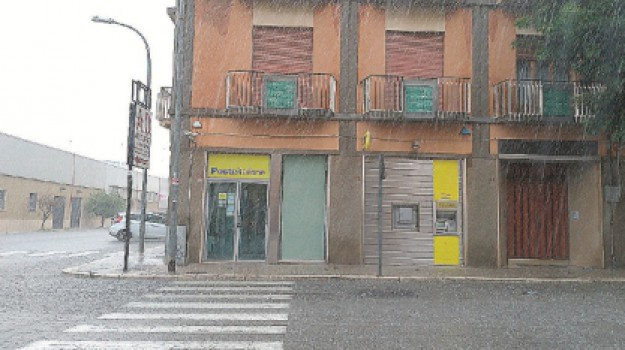 Rapina poste di Trapani, Via virgilio trapani, Trapani, Cronaca