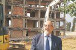 Il sindaco di Santa Margherita Belice, Franco Valenti