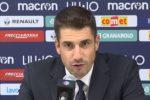 """Velazquez incita i suoi: """"Con la Juventus sarà difficile ma non impossibile"""""""