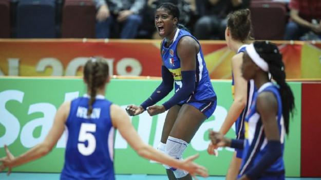azzurre pallavolo, volley femminile, Sicilia, Sport