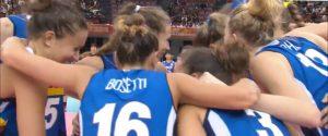 Mondiali di volley, l'Italia batte il Giappone e vola in semifinale