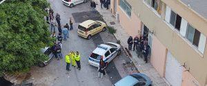 Le immagini del primo sgombero in via Savagnone, Palermo