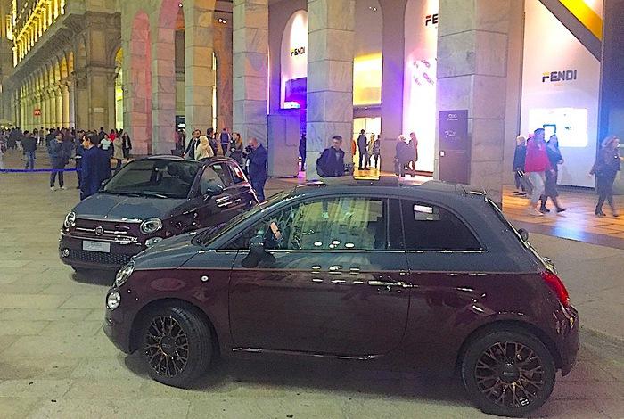 Fiat 500 sfila la collezione alla rinascente di milano giornale