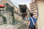 Crolla un vecchio edificio nel centro di Agrigento, 3 famiglie costrette a lasciare casa