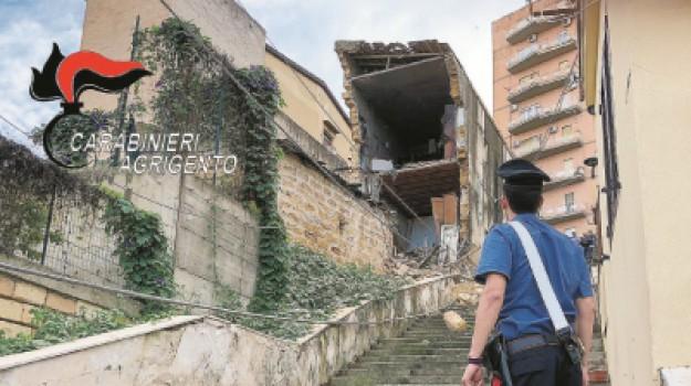 crollo via Sorrento ad Agrigento, Palazzina crollata ad Agrigento, Agrigento, Cronaca