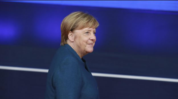 Merkel a Palermo, Angela Merkel, Sicilia, Politica