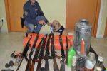 Mafia, scoperto un arsenale sotterrato in un casolare nelle campagne di Paceco