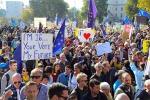 Brexit, la manifestazione a Londra per il referendum bis