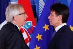 Juncker, deviazione Italia inaccettabile per altri