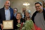 """""""Fede e alimentazione sana"""": così nonna Orsola ha raggiunto i 105 anni, festa a San Giuseppe Jato"""