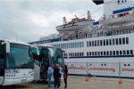 Tre navi da crociera attraccano a Trapani, tremila turisti arrivano in città