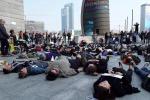 Tumori: flash mob a Milano, più attenzione a cancro al seno
