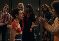 """Lo rivela una nuova clip del film di prossima uscita, """"Bohemian Rhapsody"""", con Rami Malek"""