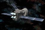 Rappresentazione artistica del satellite della missione Bepi Colombo (fonte: Astrium, ESA)