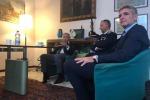 Paolo Gagliardo Ceo Quadro Vehicles e Roberto Campisi Comandante del Compartimento Polizia Stradale per la Lombardia, reparto in cui sono incardinate le Fiamme Oro