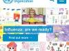 Il sito dellOms con il focus dedicato allinfluenza