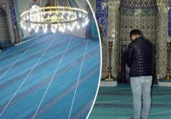 L'errore nella costruzione della moschea in un villaggio in Turchia
